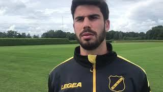 INTERVIEW | Nacho Monsalve blikt vooruit op NAC - Helmond Sport