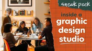 SNEAK PEEK | Inside A Graphic Design Studio