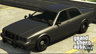 GTA 5 - How to Get Undercover Cop Car