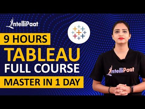 Tableau Training for Beginners   Intellipaat - YouTube