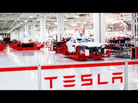 Tesla Üretim Fabrikası