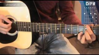 """Cómo tocar """"Té Para Tres""""de Soda Stereo en Guitarra (HD) Tutorial - Christianvib"""