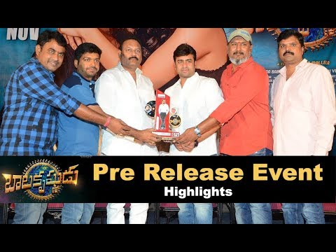 Balakrishnudu Movie Pre Realese Event