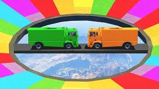 DO NOT ATTEMPT THIS INSANE RAINBOW DERBY! (GTA 5 Funny Moments)
