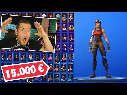 mein 15.000 EURO Fortnite ACCOUNT!
