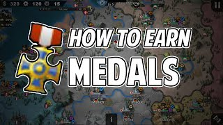 [Beginner Guide]: How to earn medals in World Conqueror 4 Tips & Tricks