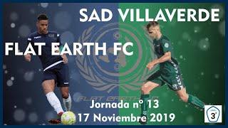 R.F.F.M. - Jornada 13 - Tercera División Nacional: Flat Earth 2-2 S.A.D. Villaverde San Andres.