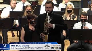Marin Balssa plays Saxophone Concerto by Boris Papandopulo