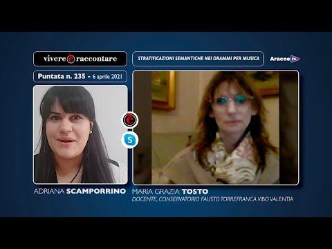 Anteprima del video Maria Grazia TOSTOStratificazioni semantiche nei drammi per musica