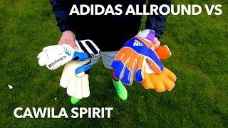 Adidas Predator Zones Allround Vs Cawila Spirit | Goalkeeper Gloves Test