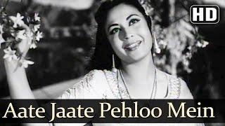 Aate Jaate Pehloo Mein (HD) - Yahudi Songs - Dilip Kumar