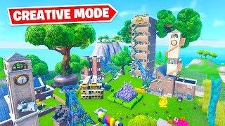 *CREATIVE MODE* Hide & Seek in Fortnite