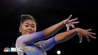 Suni Lee excels at world championship apparatus qualification | NBC Sports