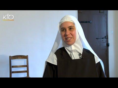 Soeur Marie de la Croix, Novice au Carmel Saint-Joseph