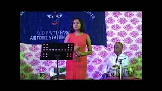 SONG BY SWARNALI MITRA AT OLD PINTO PARK 2018 AS ON (17-10-2018) [ULTRA HD-4K]
