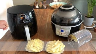 Heißluftfritteuse (Airfryer) Test - Philips vs. Klarstein