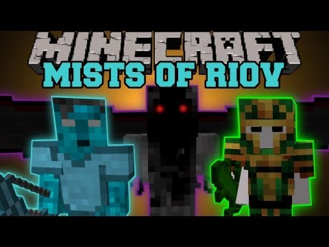 Minecraft : MISTS OF RIOV (2 DIMENSIONS, BOSSES, MOBS, BIOMES, RPG) Mod Showcase