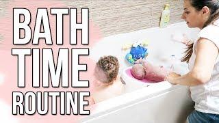 TODDLER & BABY BATH TIME ROUTINE | SOLO PARENTING 2 KIDS TIPS & HACKS | Ysis Lorenna ad