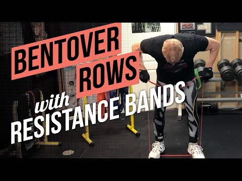 How to do Bentover Rows using Resistance Bands