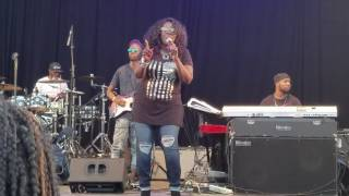 Angie Stone perfomed So Pissed Off at Betsy Head Park in Brooklyn