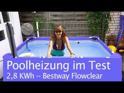 Bestway Poolheizung Flowclear  - Vorstellung, Test und Meinung