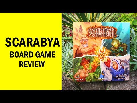 Scarabya Board Game Review & Runthrough