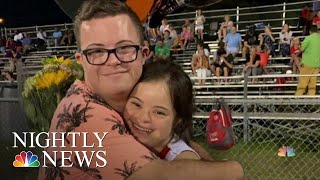 Video Shows FL Teen Asking Girlfriend, Both With Down Syndrome, To Homecoming | NBC Nightly News