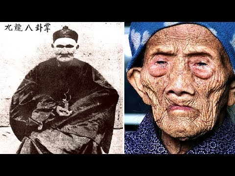 The World's Oldest Man Li Ching Yuen 256 Years Old