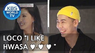 Hwasa & Loco Finally Meet ♥ ♥ ♥ [Hyena On The Keyboard 2018.05.02]