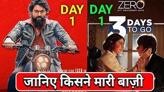 KGF VS Zero | KGF Box office Collection Day 1 | Zero Box Office Collection Day 1,Shahrukh khan,Yash