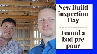 Foundation Inspection and Pre Drywall  (New Build Home Inspection) - The Houston Home Inspector