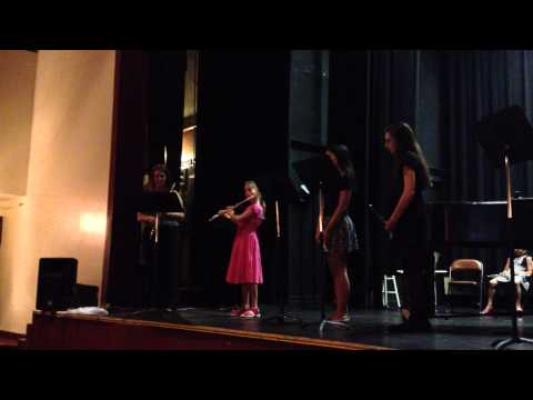 Students perform Genin - Allegretto