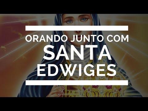Orando junto com Santa Edwiges