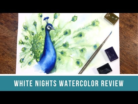 White Nights Watercolors | First Impressions Review of St. Petersburg Watercolors