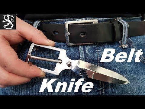 Making a Belt Knife / Как сделать Нож Ремень