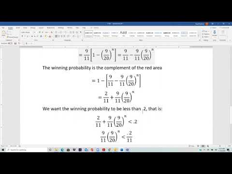 Actuarial SOA Exam P Sample Question 154 Solution - YouTube