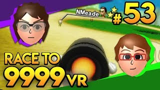 Mario Kart Wii - Hello George! - Race To 9999 VR | Ep. 53