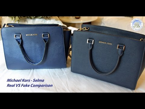 Michael Kors Selma – Fake VS Real Comparison