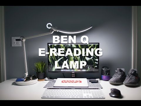 Best Tech Desk Lamp? BenQ E-Reading Lamp