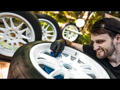 Ceramic Coating New Wheels | GYEON Q2 RIM