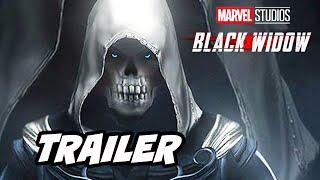 Black Widow Trailer - Black Widow vs Taskmaster Scene Marvel Avengers Easter Eggs