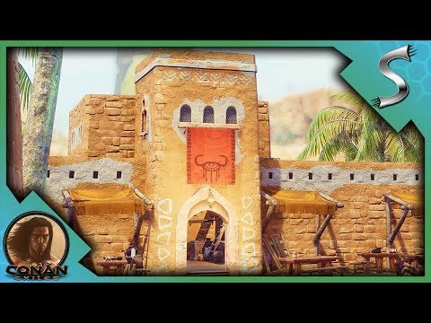 RAIDING THE CITY FOR SOULS AND FINDING CONAN! - Conan Exiles Adventures [E2]