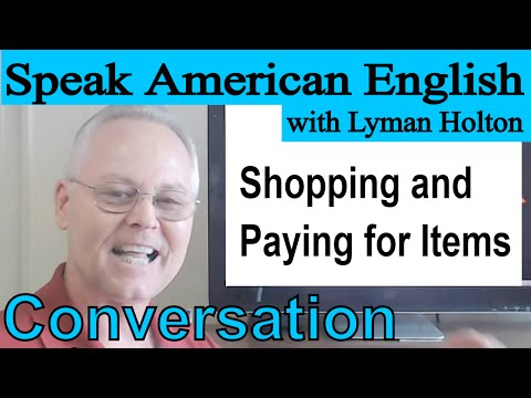 Download English Conversation - Shopping and Paying for Items - Video 64 Mp4 HD Video and MP3