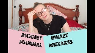 BIGGEST BULLET JOURNAL MISTAKES