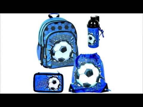 SET Rucksack Schulrucksack Schultasche Sport Fußball Tasche Jngen