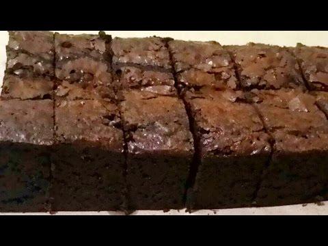 Video Resep Brownies Panggang Original Crust diluar Legit dan nyoklat didalam (tanpa mixer)