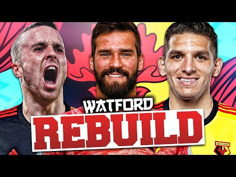 REBUILDING WATFORD!!! FIFA 20 Career Mode