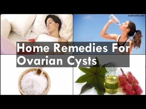 Video Home Remedies For Ovarian Cysts