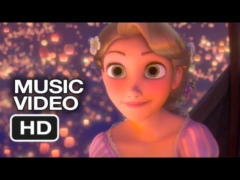 """Tangled Sing-A-Long - """"I See The Light"""" (2010) Disney Animated Movie HD"""