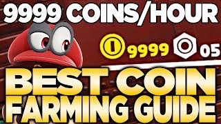 How To Get 9999 Coins UNDER 1 Hour in Super Mario Odyssey | Austin John Plays
